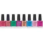 CND Vinylux Polish - Art Vandal Collection 8 Piece Color Set - 7 Day Air Dry Nail Polish ()