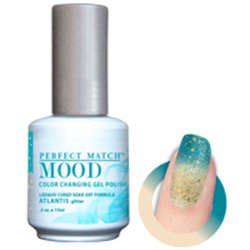 Mood Color Changing Soak Off Gel Polish - ATLANTIS (Glitter) (MPMG46)