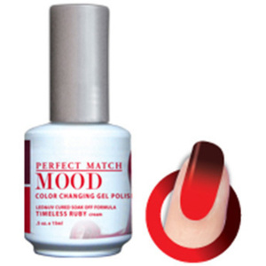 Mood Color Changing Soak Off Gel Polish - TIMELESS RUBY (Cream) (MPMG44)