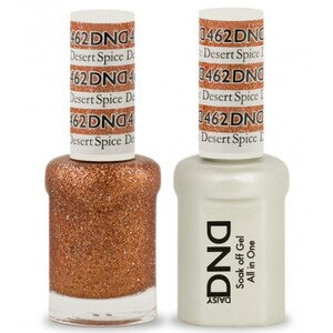 DND Duo GEL Pack - DESERT SPICE 1 Gel Polish 0.47 oz. + 1 Lacquer 0.47 oz. in Matching Color (DND-G462)