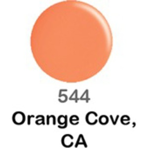 DND Duo GEL Pack - ORANG COVE CA 1 Gel Polish 0.47 oz. + 1 Lacquer 0.47 oz. in Matching Color (DND-G544)