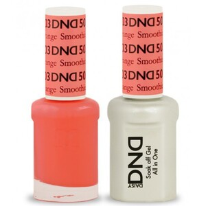 DND Duo GEL Pack - ORANGE SMOOTHIE 1 Gel Polish 0.47 oz. + 1 Lacquer 0.47 oz. in Matching Color (DND-G503)