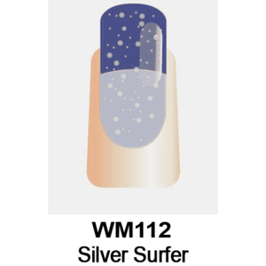 WaveGel Mood Color Soak Off Gel Polish - Silver Surfer 0.5 oz. (WM112)