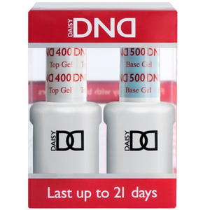 DND Duo Gel - Base Coat & Top Coat 0.47 oz. Each ()