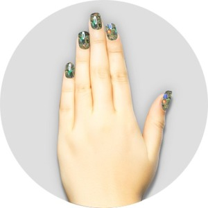 iGel Matched Set: 1 iGel Impecable Soaked-off Gel Polish 0.5 oz. + 1 iLacquer Matching Nail Lacquer Color 0.5 oz. - DIAMOND - # 60 (igel-60)