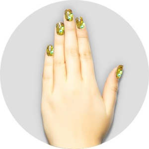 iGel Matched Set: 1 iGel Impecable Soaked-off Gel Polish 0.5 oz. + 1 iLacquer Matching Nail Lacquer Color 0.5 oz. - CANARY DIAMOND - # 65 (igel-65)