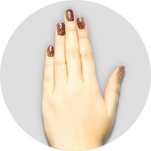 iGel Matched Set: 1 iGel Impecable Soaked-off Gel Polish 0.5 oz. + 1 iLacquer Matching Nail Lacquer Color 0.5 oz. - GOLDEN KIWI - # 68 (igel-68)