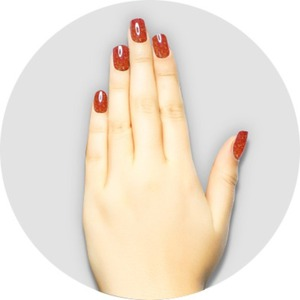 iGel Matched Set: 1 iGel Impecable Soaked-off Gel Polish 0.5 oz. + 1 iLacquer Matching Nail Lacquer Color 0.5 oz. - BROWN FIG - # 134 (igel-134)