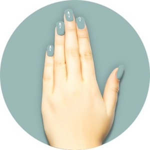 iGel Matched Set: 1 iGel Impecable Soaked-off Gel Polish 0.5 oz. + 1 iLacquer Matching Nail Lacquer Color 0.5 oz. - DENIM - # 141 (igel-141)
