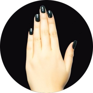 iGel Matched Set: 1 iGel Impecable Soaked-off Gel Polish 0.5 oz. + 1 iLacquer Matching Nail Lacquer Color 0.5 oz. - BLACKMAGIC - # 155 (igel-155)