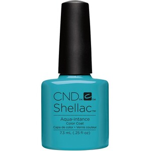 CND SHELLAC UV Color Coat - Summer 2016 Flirtation Collection - Aqua-intance 0.25 oz. - The 14 Day Manicure is Here! ()