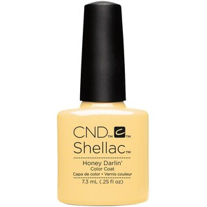 CND SHELLAC UV Color Coat - Summer 2016 Flirtation Collection - Honey Darlin' 0.25 oz. - The 14 Day Manicure is Here! ()