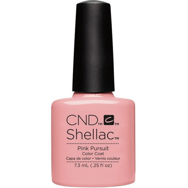 CND SHELLAC UV Color Coat - Summer 2016 Flirtation Collection - Pink Pursuit 0.25 oz. - The 14 Day Manicure is Here! ()