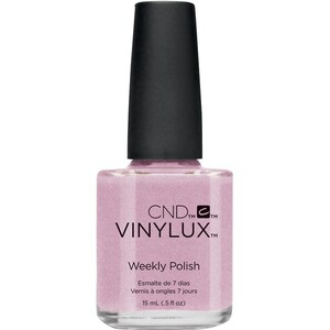 CND Vinylux Polish - Summer 2016 Flirtation Collection - Lavender Lace 0.5 oz. - 7 Day Air Dry Nail Polish ()