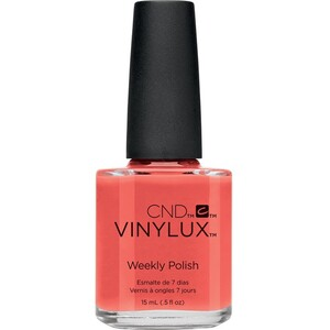 CND Vinylux Polish - Summer 2016 Flirtation Collection - Desert Poppy 0.5 oz. - 7 Day Air Dry Nail Polish ()