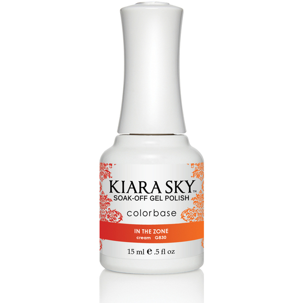 Kiara Sky - Ombre Color Changing Gel Polish - In The Zone 0.5 oz. (G830)