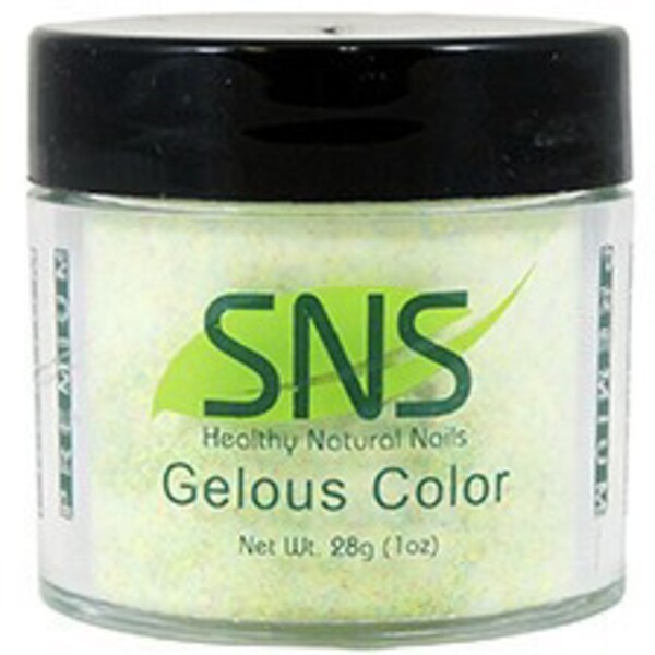 SNS GELous Color Dipping Powder - SNOWFLAKE IN YELLOWSTONE #85 1 oz. (SNS#85)
