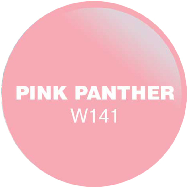 WaveGel Matching Soak Off Gel Polish & Nail Lacquer - Pink Panther 0.5 oz. Each (WG141)