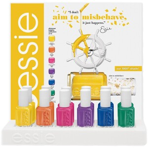 Essie Summer 2016 Shimmer Brights - 12 Bottle Designer Display (994290)
