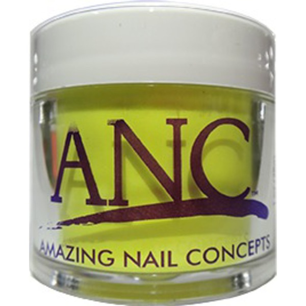 ANC Dip Powder - NEON YELLOW #153 1 oz. - part of the ANC Acrylic Nails Dipping System (ANC#153)