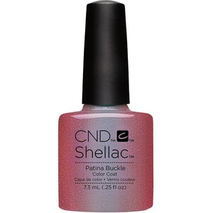 CND SHELLAC UV Color Coat - Fall 2016 Craft Culture Collection - Patina Buckle 0.25 oz. - The 14 Day Manicure is Here! ()