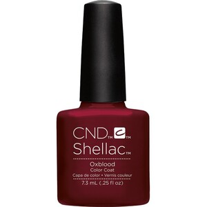 CND SHELLAC UV Color Coat - Fall 2016 Craft Culture Collection - Oxblood 0.25 oz. - The 14 Day Manicure is Here! ()