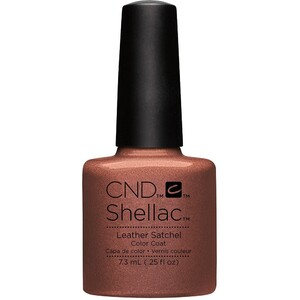 CND SHELLAC UV Color Coat - Fall 2016 Craft Culture Collection - Leather Satchel 0.25 oz. - The 14 Day Manicure is Here! ()