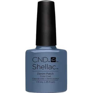 CND SHELLAC UV Color Coat - Fall 2016 Craft Culture Collection - Denim Patch 0.25 oz. - The 14 Day Manicure is Here! ()