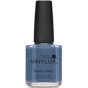 CND Vinylux Polish - Fall 2016 Craft Culture Collection - Denim Patch 0.5 oz. - 7 Day Air Dry Nail Polish ()