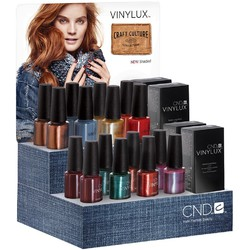 CND Vinylux Polish - Fall 2016 Craft Culture Collection - Large POP Display ()