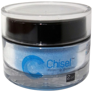 Chisel Dipping Powder - G48 Glitter with Silver 2 oz. (cna2648)