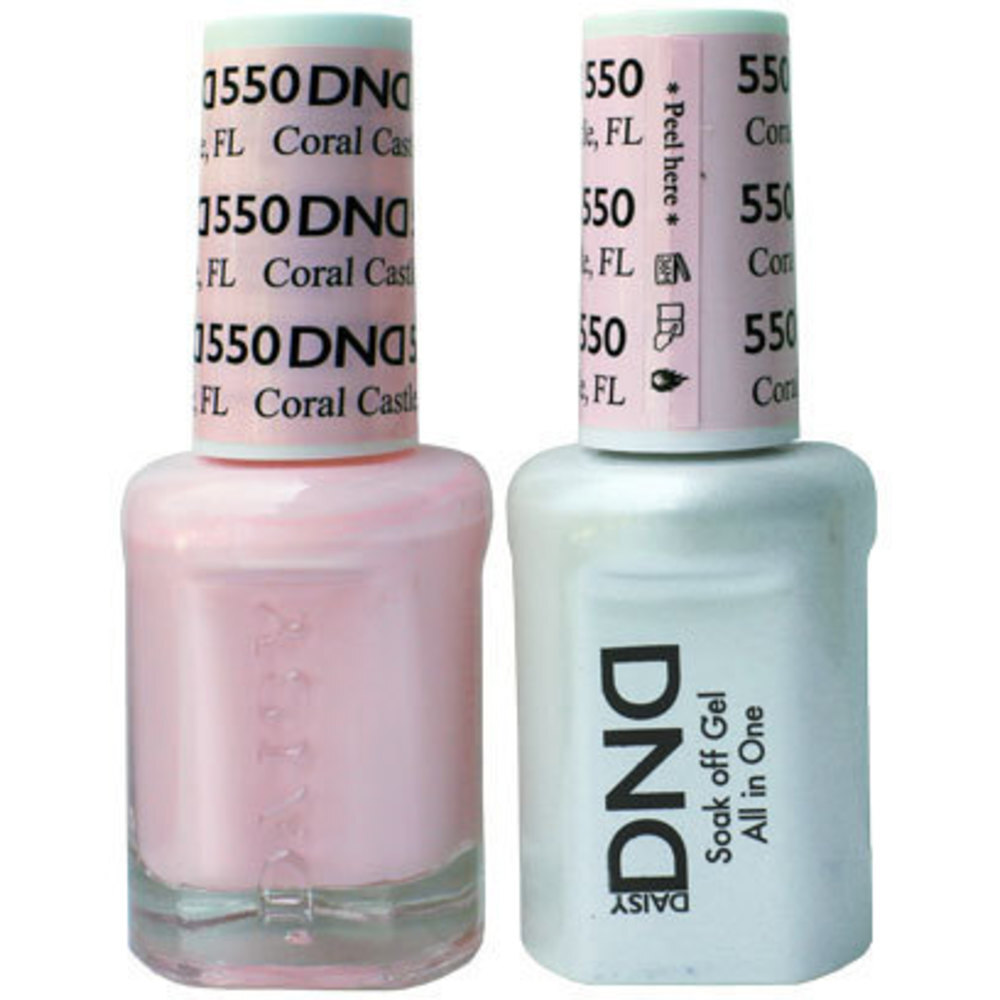 Duo GEL Pack - CORAL CASTLE FL 1 Gel Polish 0.47 oz. + 1 Lacquer ...