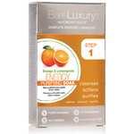 BareLuxury 4-Step Complete Pedicure & Manicure - ENERGY - ORANGE & LEMONGRASS - 4 PACK (51318)