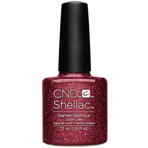 CND SHELLAC UV Color Coat - Starstruck Collection - Garnet Glamour 0.25oz (91257)