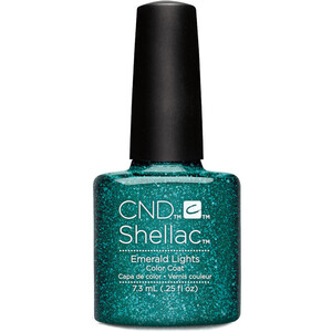 CND SHELLAC UV Color Coat - Starstruck Collection - Emeral Lights 0.25oz (91260)