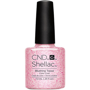 CND SHELLAC UV Color Coat - Starstruck Collection - Blushing Topaz 0.25oz (91259)