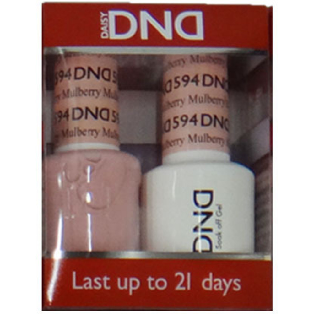 DND Duo GEL Pack - Diva Collection - MULBERRY 1 Gel Polish 0.47 oz ...