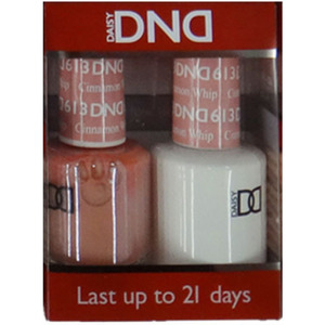 DND Duo GEL Pack - Diva Collection - CINNAMON WHIP 1 Gel Polish 0.47 oz. + 1 Lacquer 0.47 oz. in Matching Color (DND-G613)