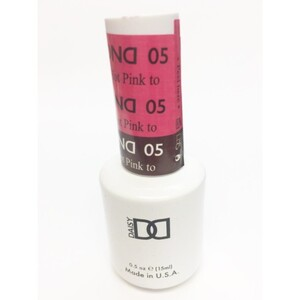 DND Mood Gel Polish - Hot Pink to Mulberry MC05 0.47 oz. (MC05)