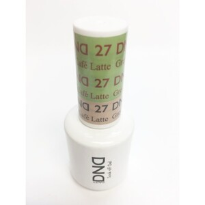 DND Mood Gel Polish - Green to Cafe Latte MC27 0.47 oz. (MC27)