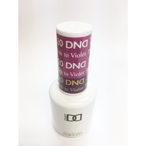 DND Mood Gel Polish - Pink to Violet MC20 0.47 oz. (MC20)