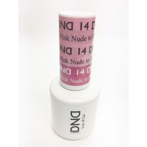 DND Mood Gel Polish - Nude to Pink Nude MC14 0.47 oz. (MC14)
