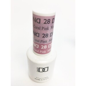 DND Mood Gel Polish - Mauve to Coral Pink MC28 0.47 oz. (MC28)