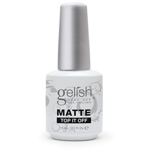 Gelish - Matte Top It Off 0.5 oz. - 15 mL. (812803012223 - 01222)