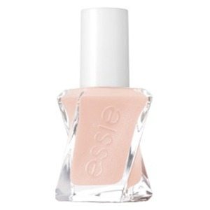 Essie Gel Couture - Ballet Nudes - SATIN SLIPPER - .5oz #1035 0.46 oz. - No Lamp Easy Soak-Free Removal 14 Day Wear (couture-1035)