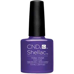 CND Shellac - Spring 2017 New Wave Collection - Video Violet 0.25 oz. - The 14 Day Manicure is Here! (768982)