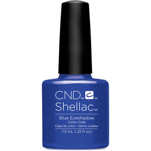 CND Shellac - Spring 2017 New Wave Collection - Blue Eyeshadow 0.25 oz. - The 14 Day Manicure is Here! (768984)