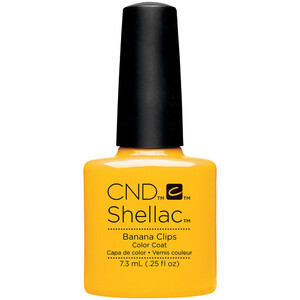 CND Shellac - Spring 2017 New Wave Collection - Banana Clips 0.25 oz. - The 14 Day Manicure is Here! (768985)