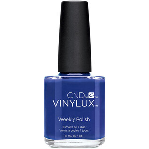 CND Vinylux - Spring 2017 New Wave Collection - Blue Eyeshadow 0.5 oz. - 7 Day Air Dry Nail Polish (767139)