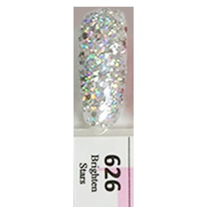 DND Duo Gel Pack - BRIGHTEN STARS - G626 1 Gel Polish 0.47 oz. + 1 Lacquer 0.47 oz. in Matching Color (DND-G626)